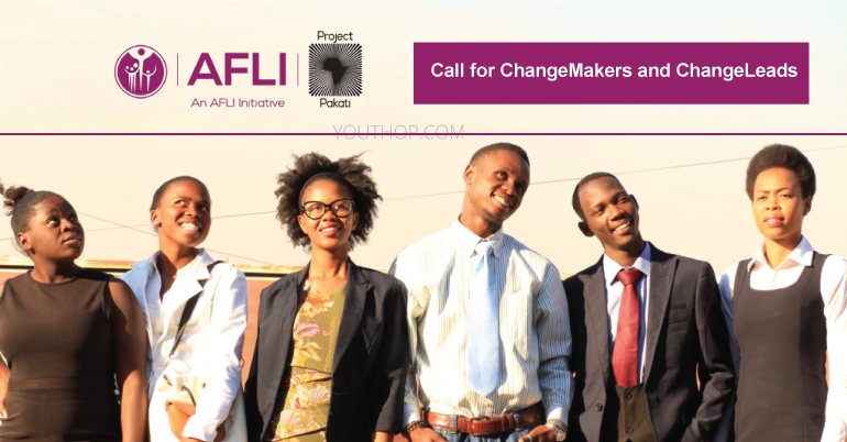 Call for ChangeMakers and ChangeLeads: Project Pakati