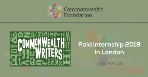 Commonwealth Writers Internship 2019 in London