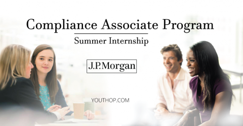 Compliance Associate Program- 2019 Internship at J.P.Morgan