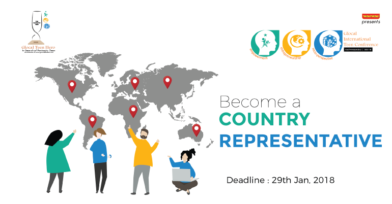 Country Representative- Glocal International Teen Conference 2019