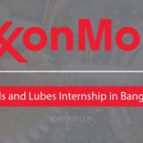 ExxonMobil Fuels and Lubes Internship 2019 in Bangkok