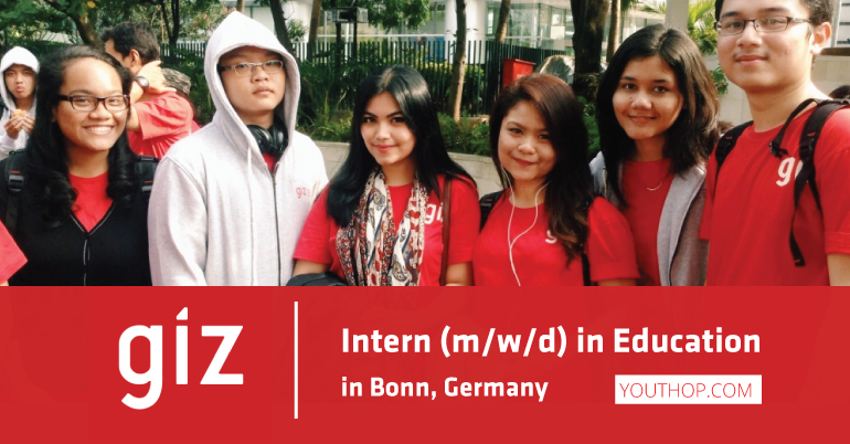 GIZ Internship Opportunity 2019 in Germany