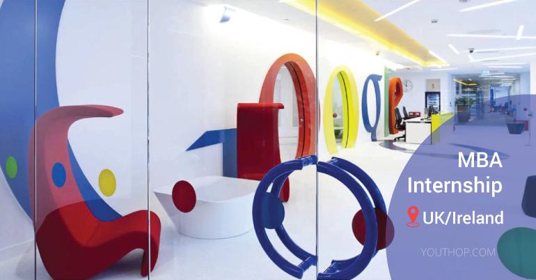 Google MBA Internship 2019 in UK