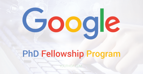 Google PhD Fellowship Program 2019