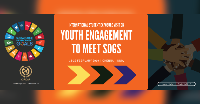 International Students Exposure Visit on Youth Engagement to meet SDGs