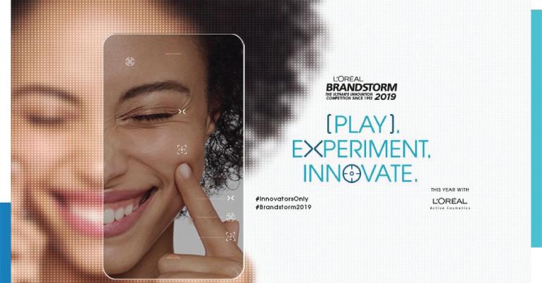 L'oreal BRANDSTORM Competition 2019 in Paris