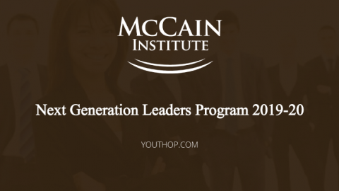 Next Generation Leaders Program 2019-20 in USA