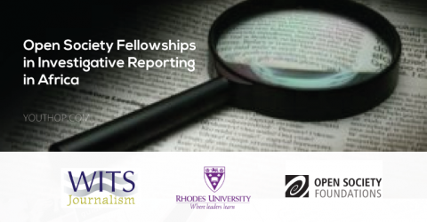 Open Society Fellowships in Investigative Reporting 2019 in Africa