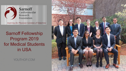 Sarnoff Fellowship Program 2019 for Medical Students in USA