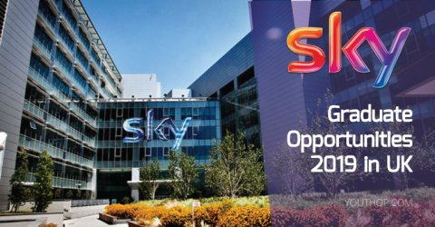 Sky Graduate Opportunities 2018 in UK