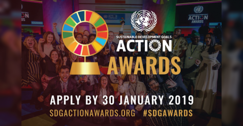 Submit Your Application for UN SDG Action Award 2019