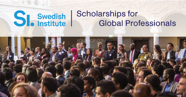 Swedish Institute Scholarships for Global Professionals 2019