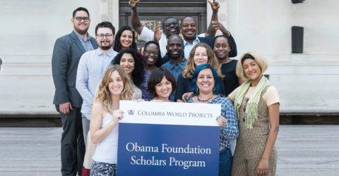 The Obama Foundation Scholars Program 2019-2020 at Columbia University
