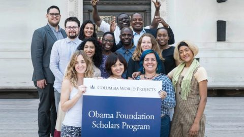 The Obama Foundation Scholars Program 2019-2020 at Columbia University