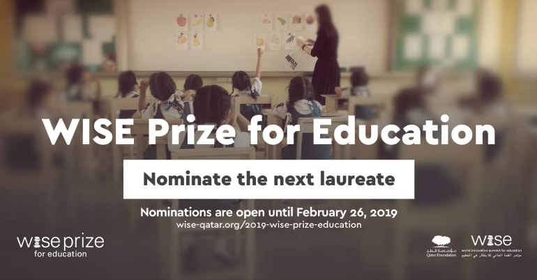 The WISE Prize for Education 2019