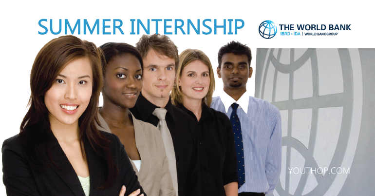 World Bank Summer Internship Program 2019