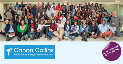 2019 Canon Collins Scholarships for Masters Study in the UK