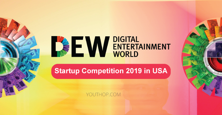 Digital Entertainment World Startup Competition 2019 in USA