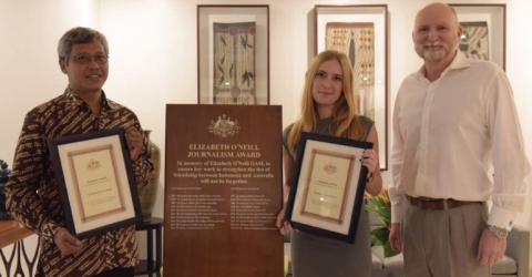 Call for Applications: Elizabeth O'Neill Journalism Award 2019