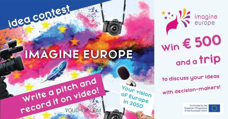 Imagine Europe Idea Contest 2019- Win 500€