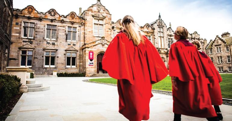 International Excellence Scholarship 2019 at University of Andrews, Scotland