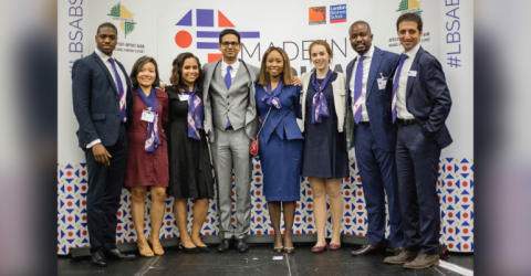 London Business School's Africa Club ACCEL Awards 2019 in UK