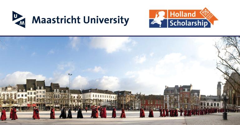 Maastricht University Holland-High Potential Scholarship 2019