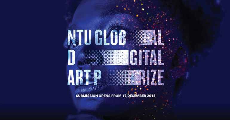 NTU Global Digital Art Prize 2019 in Singapore