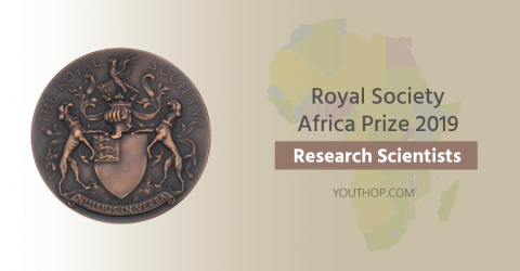 Royal Society Africa Prize 2019 for Research Scientists