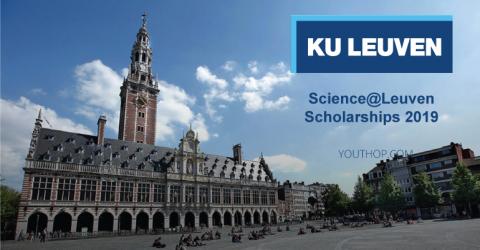 Science@Leuven Scholarships 2019 in Belgium