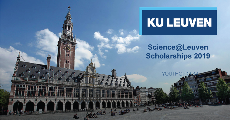 Science@leuven Scholarships 2019