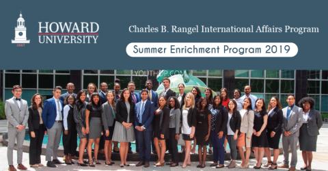 The Charles B. Rangel International Affairs Summer Enrichment Program 2019 in USA