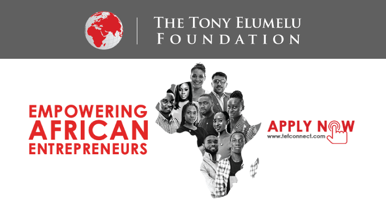 Tony Elumelu Foundation Entrepreneurship Programme 2019