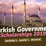 Turkish Government Scholarships 2019