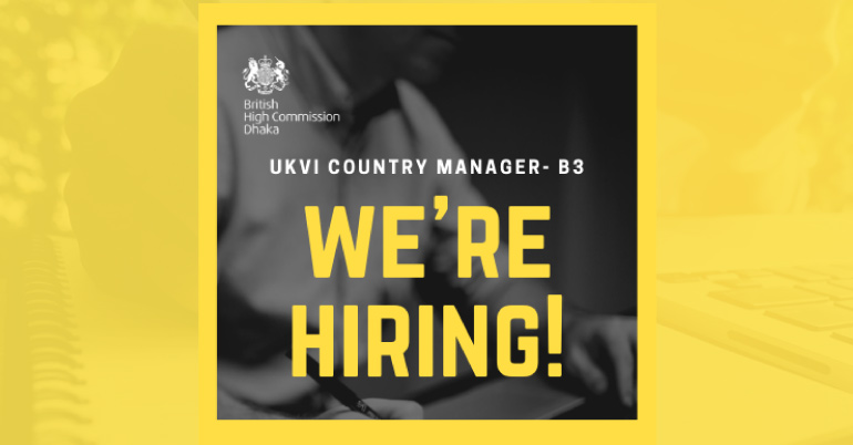 Apply for the position of UK Visas & Immigration Country Manager in