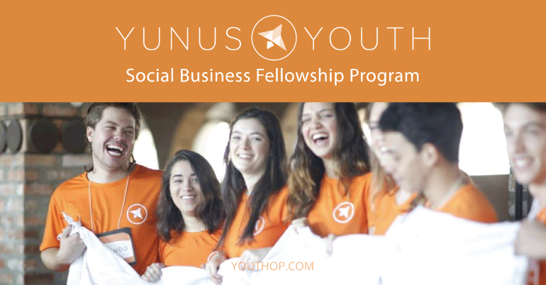 Yunus&Youth Global Fellowship Program for Social Entrepreneurs 2020