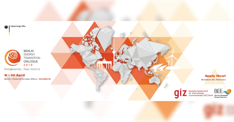 2019 Berline Energy Transition DIalogue Media Fellowship for Journalists