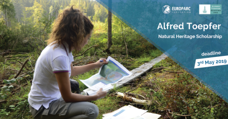 Alfred Toepfer Natural Heritage Scholarships 2019