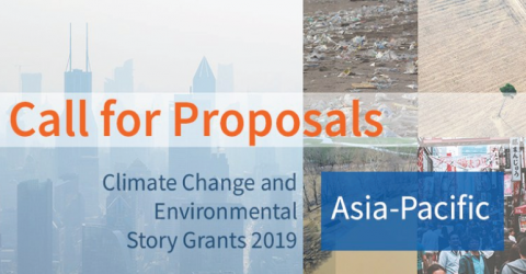 Asia-Pacific Climate Change and Environmental Story Grants 2019
