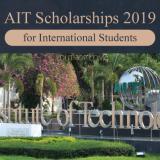 AIT Scholarships 2019 in Thailand