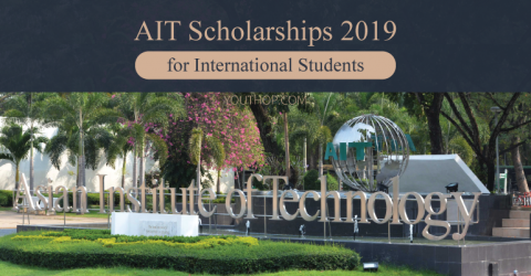 Asian Institute of Technology- AIT Scholarships 2019 in Thailand