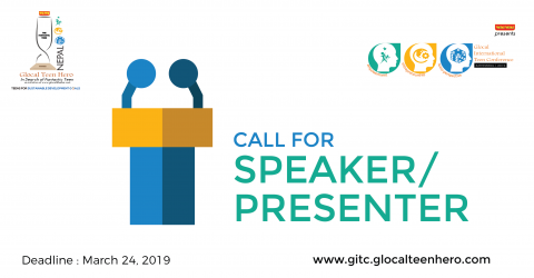 Become a Speaker & Presenter at Glocal International Teen Conference 2019 in Nepal