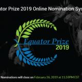 Equator Prize 2019 (Receive USD 10,000)