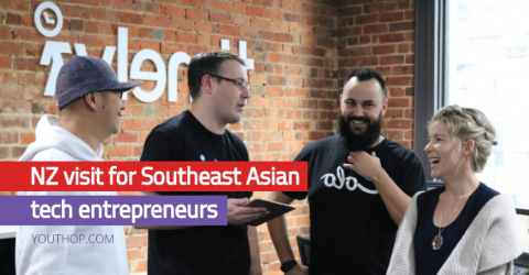 Fully Funded New Zealand Visit for Southeast Asian Tech Entrepreneurs