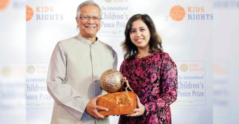 International Children's Peace Prize 2019 in Netherlands
