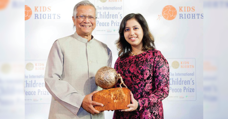 International Children's Peace Prize 2019 in Netherlands