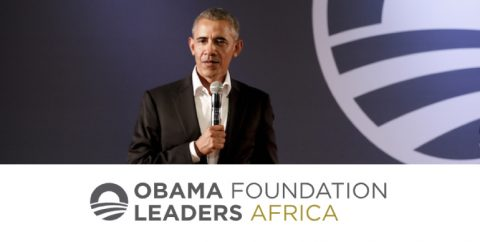 Obama Foundation Africa Leaders 2019 in Johannesburg, South Africa