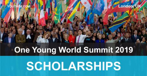 Scholarships for One Young World 2019 in London, UK