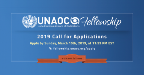 UNAOC Fellowship Programme 2019: Call for Applications