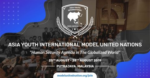 Asia Youth International Model United Nations 2019 in Malaysia